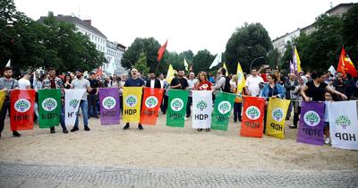 HDP Berlin'de seçim mitingi yaptı
