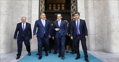 Alman Dışişleri Bakanı'nın Türkiye temasları