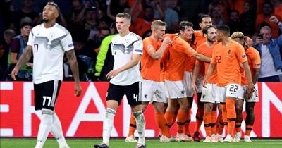 Almanya Hollanda'ya 3-0 yenildi