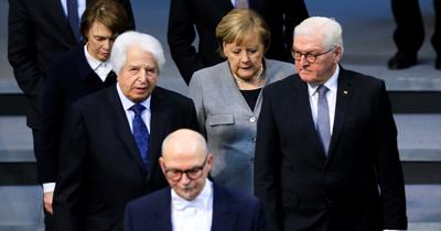 Nazi kurbanları Alman Meclisi'nde anıldı