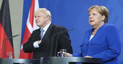 Johnson ve Merkel BREXIT'i görüştü