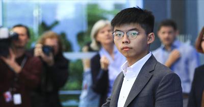 Aktivist Wong Almanya'dan destek istedi