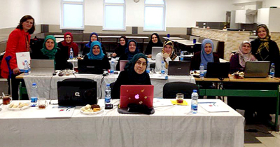 Kadınlara DİTİB'de bilgisayar kursu