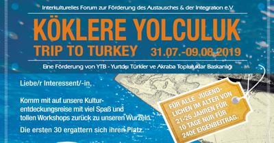Almanya'daki Türk gençlerine özel gezi programı