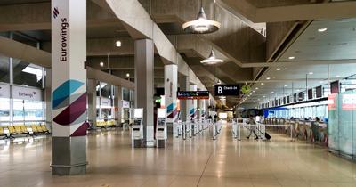 Frankfurt Havalimanı'nın yolcu sayısı azaldı