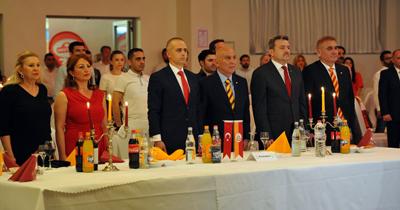 Köln'de Galatasaray'ın şampiyonluk kutlaması yapıldı