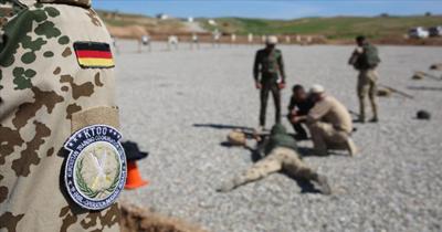 Alman askerlerinin bir kısmı Irak dışına çıkacak