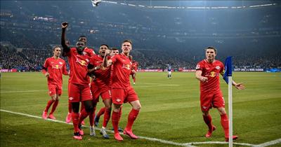 Leipzig Schalke 04'ü 5-0 yendi