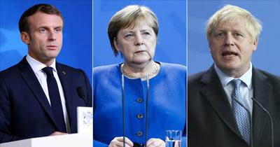Üç liderden ortak İran açıklaması