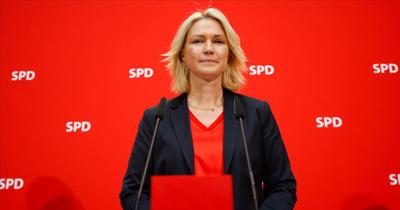 Manuela Schwesig SPD genel başkanlığını bıraktı