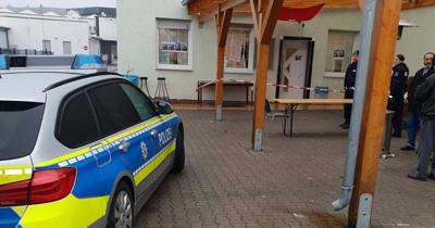 Menden'de camiye saldırı yapıldı