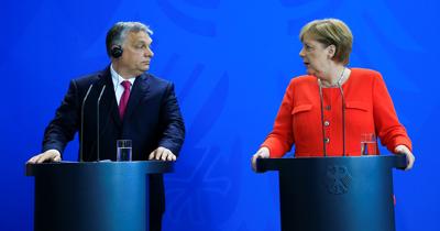 Merkel ile Orban göç konusunda farklı düşünüyor