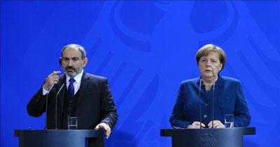 Merkel Ermenistan başbakanı ile görüştü
