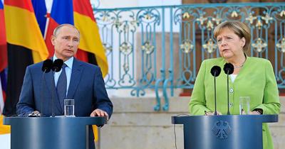 Merkel Putin ile Suriye'yi görüştü