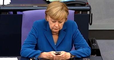 Merkel Çin Devlet Başkanı Şi ile görüştü