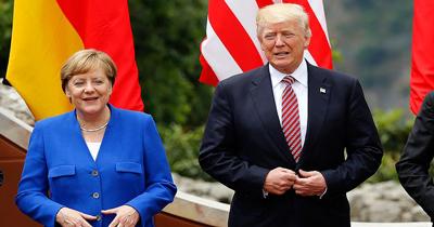 Merkel-Trump görüşmesinde dayanışma vurgusu
