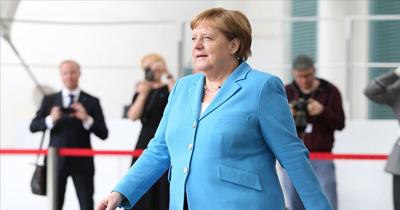 Merkel'den titreme nöbeti sonrası açıklama