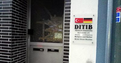 Münchberg'de camiye saldırı