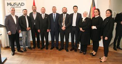 MÜSİAD yöneticilerinin Almanya buluşması
