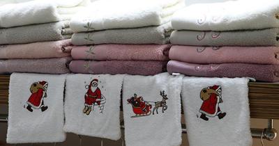 Noel havlusuna Avrupa'dan yoğun talep