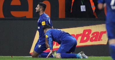 Ozan Schalke forması ile 3. golünü attı