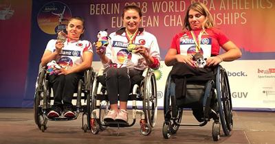 Para Atletizm Avrupa Şampiyonası'nda 5 madalya