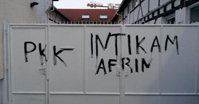 2017'de PKK Almanya'da binden fazla saldırı yaptı