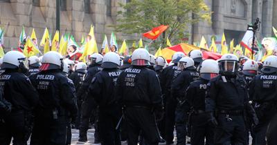 Almanya'da PKK yandaşları yine gösteri yaptı