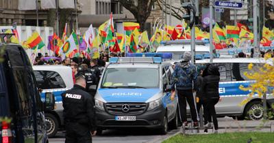 Berlin polisi PKK yandaşlarını uyardı