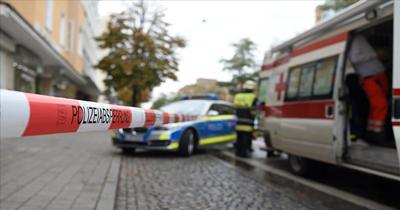 Almanya'da sinagoga silahlı saldırıda iki kişi öldü