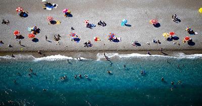 Antalya'ya gelen turist sayısında rekor
