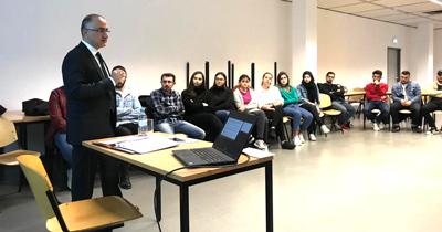 Başkonsolos Cebeci'den Türkiye-AB ilişkileri konulu akademik sunum
