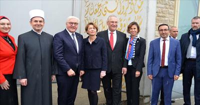 Cumhurbaşkanı Steinmeier'den cami ziyareti