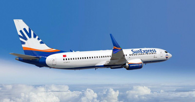 Germania yolcuları SunExpress ile uçuyor