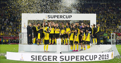 Almanya'da Süper Kupa'yı Dortmund kazandı