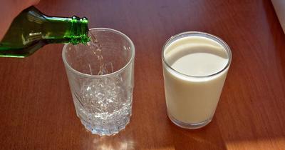 Süt içemeyenler maden suyu tüketsin
