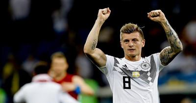 Toni Kroos Almanya'da yılın futbolcusu