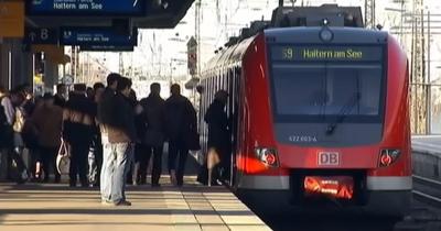 Almanya'da ölümlü tren kazası