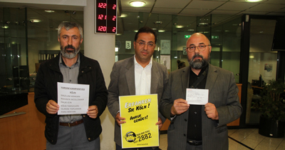 Almanya'da Türk taksicilerden Arakan'a yardım