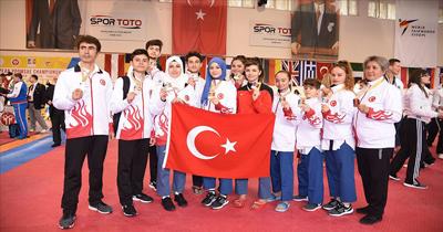 Türkiye tekvandoda 3. defa Avrupa şampiyonu