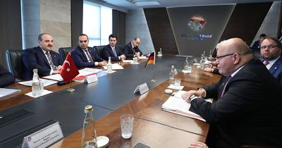 Alman iş dünyası Türkiye'de yeni işbirliği alanları açmak istiyor