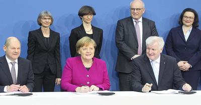 Almanya'da 6 ayın sonunda hükümet kuruldu