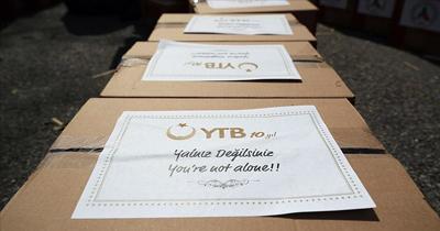 YTB 165 bin vatandaşa yardım eli uzattı