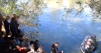 Yunanistan'ın göçmenleri zorla geri gönderme görüntülerini yayınladı